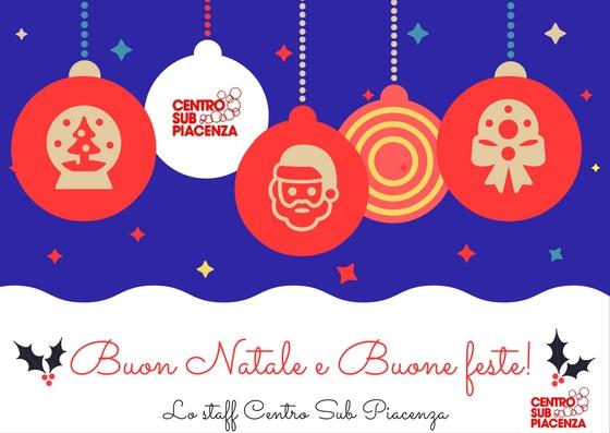 Buon Natale E Buone Feste Natalizie.Centro Sub Piacenza Buon Natale E Buone Feste